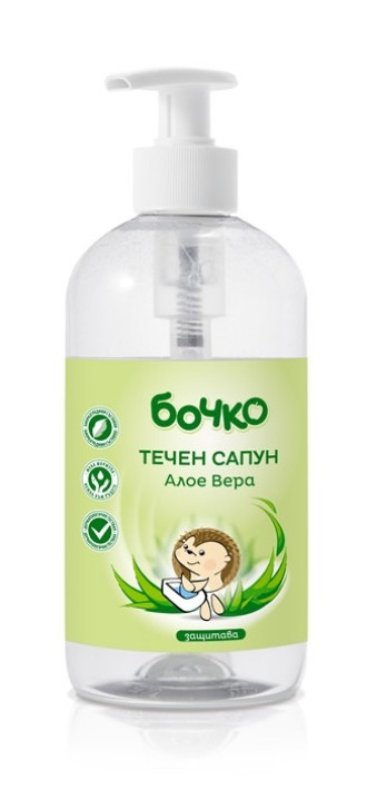 БОЧКО Течен сапун Алое Вера 500мл | BOCHKO Liquid soap Aloe Vera 500ml