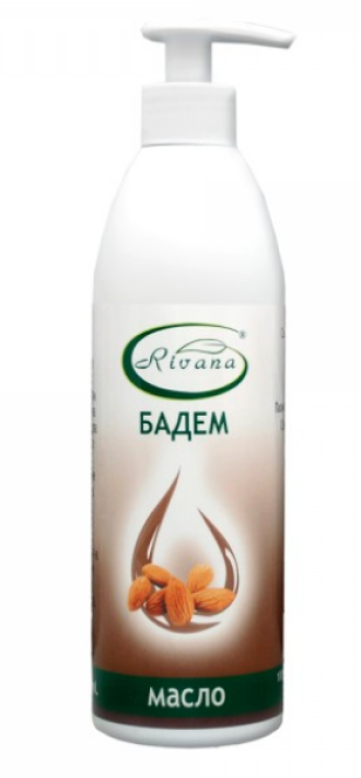 Бадемово масло 500мл РИВАНА | Almond oil 500ml RIVANA