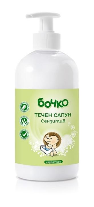 БОЧКО Течен сапун Сензитив 500мл   BOCHKO Liquid soap Sensitive 500ml
