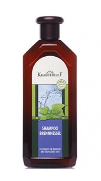 АСАМ КРОЙТЕРХОФ Шампоан с коприва (хидратиращ) 500мл | ASAM KRAUTERHOF Shampoo brennesel 500ml