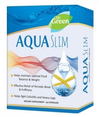 АКВА СЛИМ 30 капс. ДР. ГРИЙН | AQUA SLIM 30 caps. DR. GREEN