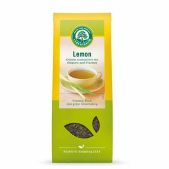 БИО Зелен чай с Лимон, насипен 75гр ЛЕБЕНСБАУМ | BIO Green tea with Lemon, loose 75g LEBENSBAUM