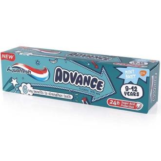 АКВАФРЕШ Детска паста за зъби 9-12г АДВАНС 75мл | AQUAFRESH Kids toothpaste 9-12y ADVANCE 75ml