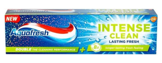 АКВАФРЕШ ИНТЕНС КЛИЙН Паста за зъби ЛАСТИНГ ФРЕШ 75мл | AQUAFRESH INTENSE CLEAN Toothpaste LASTING FRESH 75ml