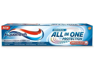АКВАФРЕШ ОЛ ИН УАН Паста за зъби ОРИДЖИНАЛ 75мл | AQUAFRESH ALL IN ONE Toothpaste ORIGINAL 75ml