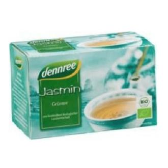 "БИО Чай Зелен Жасмин пакетчета 20бр, 30гр ДАНРЕ | BIO Tea Green ""Jasmin"" teabags 20s, 30g DANNREE"
