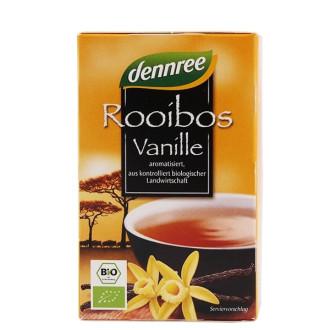 "БИО Чай Ройбос и Ванилия пакетчета 20бр, 30гр ДАНРЕ   BIO Tea ""Rooibos Vanille"" teabags 20s, 30g DANNREE"