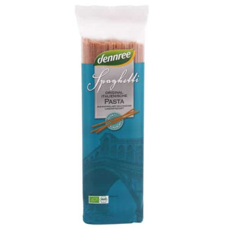 Спагети от Спелта, Пълнозърнести 500гр ДАНРЕ | Spaghetti from Spelt, whole grain 500g DENNREE