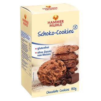 Бисквити с Шоколад, без глутен 150гр ХАМЕРМИЛ | Biscuits with Chocolate, gluten-free 150g HAMMERMÜHLE