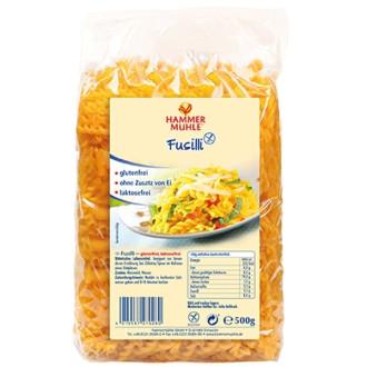 Фузили Царевични, без глутен 500гр ХАМЕРМИЛ | Fusilli Corn, gluten free 500g HAMMERMÜHLE