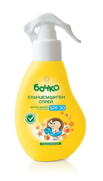 БОЧКО Слънцезащитен спрей SPF30 150мл   BOCHKO Sun protection spray SPF30 130ml