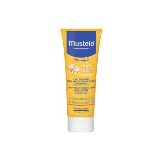 МУСТЕЛА SPF50+ Слънцезащитен лосион 200мл | MUSTELA SPF50+ Sun lotion 200ml