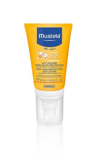 МУСТЕЛА SPF50+ Слънцезащитен лосион за лице 40мл | MUSTELA SPF50+ Face sun lotion 40ml