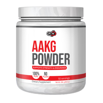 ААКГ ПРАХ 250г ПЮР НУТРИШЪН | AAKG POWDER 250g PURE NUTRITION