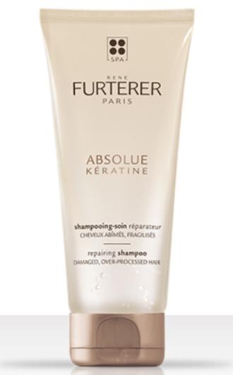 РЕНЕ ФЮРТЕРЕР АБСОЛЮТ КЕРАТИН Възстановяващ шампоан за увредена коса 200мл   RENE FURTERER ABSOLUE KERATINE Repairing shampoo 200ml