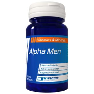 АЛФА МЕН СУПЕР МУЛТИ ВИТАМИН 120 таблетки MYPROTEIN | ALPHA MEN SUPER MULTI VITAMIN 120 tabs. MYPROTEIN