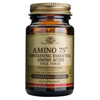 АМИНО 75  растителни капсули 30бр. СОЛГАР | AMINO 75 veg. caps. 30s  SOLGAR