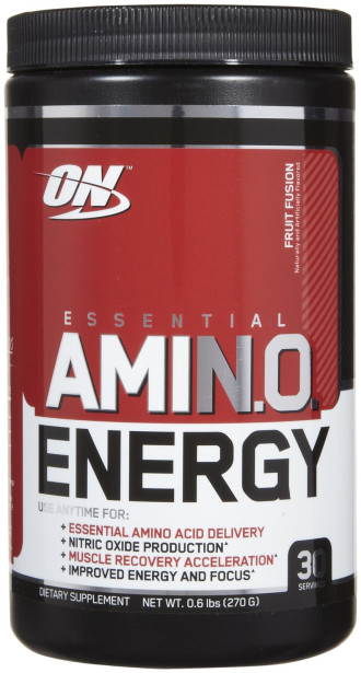 АМИНО ЕНЕРДЖИ – ФРУТ ФЮЖЪН прах 270г ОПТИМУМ НУТРИШЪН | AMINO ENERGY – FRUIT FUSION pwd 270g OPTIMUM NUTRITION
