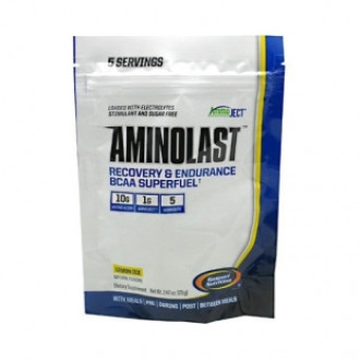 АМИНОЛАСТ – ЛЕМЪН АЙС прах 70г ГАСПАРИ НУТРИШЪН | AMINOLAST – LEMON ICE pwd 70g GASPARI NUTRITION