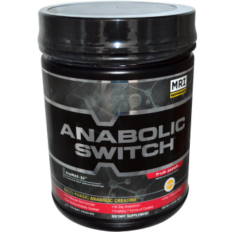 АНАБОЛИК СУИЧ® ФРУУТ ПЪНЧ прах 1кг МРИ | ANABOLIC SWITCH® FRUIT PUNCH pwd 1kg MRI