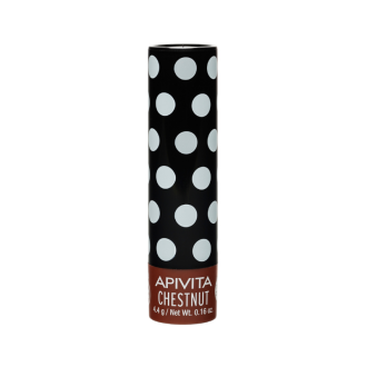 Балсам за устни с Кестен 4,4гр. АПИВИТА | Lip care with Chestnyt 4,4g APIVITA