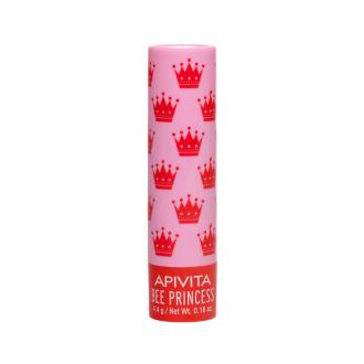 Балсам за устни с Мед и Кайсия Bee Princess 4,4гр. АПИВИТА | Lip care with Honey & Apricot Bee Princess 4,4g APIVITA