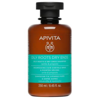 Шампоан за мазен скалп и сухи краища x 250мл АПИВИТА | Oily roots & Dry ends Shampoo x 250ml APIVITA