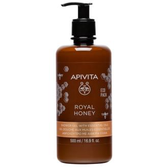 Душ гел с мед x 500мл АПИВИТА | Shower gel Royal honey x 500ml APIVITA