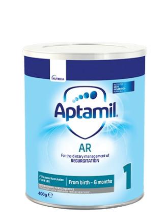 АПТАМИЛ АР (Анти-рефлукс) Мляко за кърмачета 0+ месеца 400гр. | APTAMIL AR (Anti-Regurgitation) Infant formula 0+ 400g
