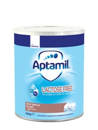 АПТАМИЛ LF Мляко без лактоза 0+ месеца 400гр. | APTAMIL LF Lactose free Infant formula 0+ 400g