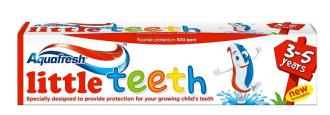 АКВАФРЕШ Детска паста за зъби 3-5г ЛИТЪЛ ТИЙТ 50мл | AQUAFRESH Kids toothpaste 3-5y LITTLE TEETH 50ml