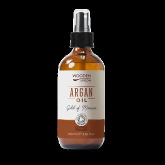 Арганово масло 100мл УДЪН СПУУН | Argan oil 100% Pure 100ml WOODEN SPOON