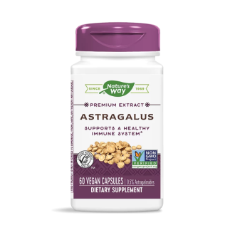 АСТРАГАЛ 500мг. 60 бр. вег. капс. НЕЙЧЪР'С УЕЙ | ASTRAGALUS 500mg 100s veg caps NATURE'S WAY