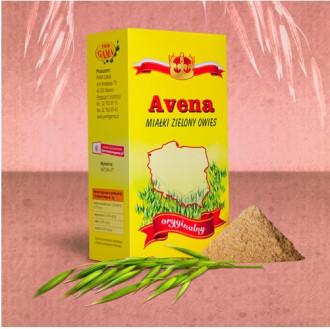АВЕНА Фин зелен овес (стръкове в прахообразна форма) ПВМ ГАМА 250гр | AVENA Fine green oat (stalks in powder) PWM GAMA 250g