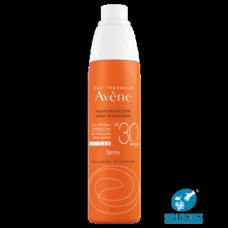 АВЕН СЪН Слънцезащитен спрей SPF30 200мл | AVENE SUN High protection spray SPF30 200ml