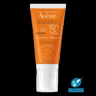 АВЕН СЪН Слънцезащитен крем тенте SPF50+ 50мл | AVENE SUN Very high protection tinted cream SPF50+ 50ml