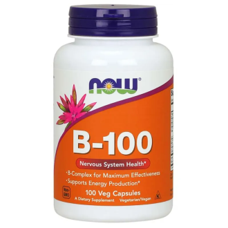 ВИТАМИН Б-100 100 капс. НАУ ФУУДС | VITAMIN B-100 100 caps. NOW FOODS