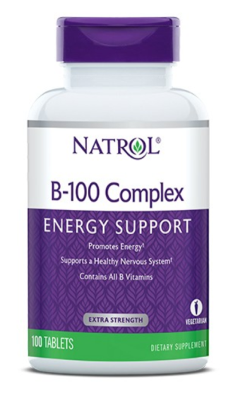 Б-100 КОМПЛЕКС 100 таблетки НАТРОЛ | B-100 COMPLEX 100 tabs NATROL