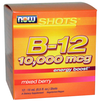 ВИТАМИН Б-12 ШОТ 1мл НАУ ФУУДС | VITAMIN B-12 SHOT 15ml NOW FOODS