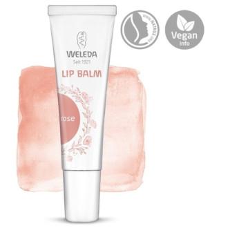 ВЕЛЕДА Балсам за устни РОЗОВ 10мл | WELEDA Lip balm ROSE 10ml