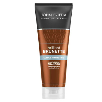 ДЖОН ФРИДА БРИЛЯНТ БРЮНЕТ Хидратиращ шампоан за тъмна коса 250мл | JOHN FRIEDA BRILLIANT BRUNETTE Release moisturizing shampoo for all brunette shades 250ml