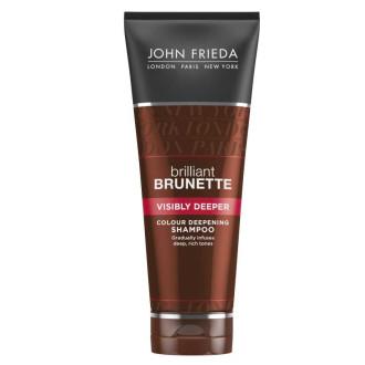 ДЖОН ФРИДА БРИЛЯНТ БРЮНЕТ Шампоан за видимо потъмняване на косата 250мл | JOHN FRIEDA BRILLIANT BRUNETTE Visisbly deeper shampoo 250ml