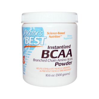 БЦАА Прах 300гр. ДОКТОРС БЕСТ | BCAA Powder 300g DOCTOR'S BEST