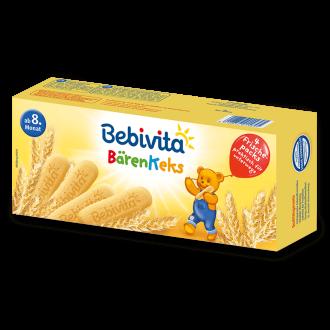 БЕБИВИТА Бебешки бисквити 180гр. | BEBIVITA Baby bisquits 180g