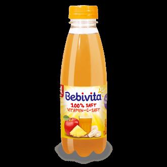 БЕБИВИТА Сок с Витамин С 4+м. 500мл. | BEBIVITA Vitamin C juice 4+ 500ml
