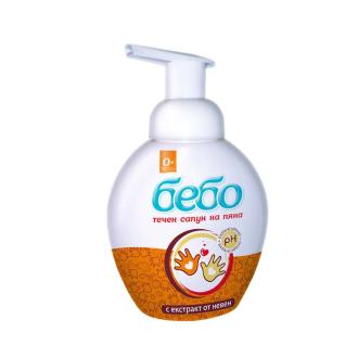 Течен сапун 300мл БЕБО   Liquid soap 300ml BEBO
