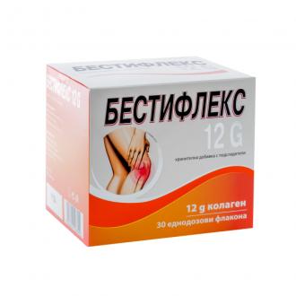 БЕСТИФЛЕКС 12G 30 бр. еднодозови флакона х 25мл. НАТУРПРОДУКТ | BESTIFLEX 12G 30s single dose vials x 25ml NATURPRODUKT