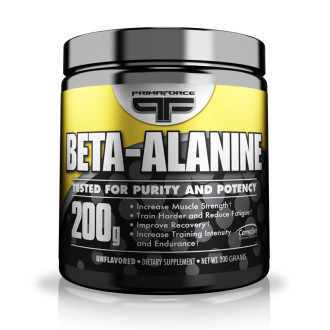 БЕТА-АЛАНИН прах 200г ПРИМАФОРС | BETA-ALANINE pwd 200g PRIMAFORCE