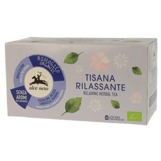 Билков чай Релакс Alce Nero 20бр филтърни пакетчета | Relaxing herbal tea Alce Nero 20s tisane