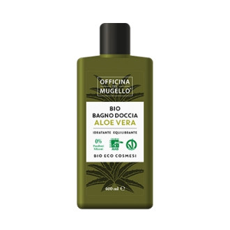 ОФИЦИНА ДЕЛ МУДЖЕЛО БИО Душ гел с Алое вера 400мл | OFFICINA DEL MUGELLO BIO Body wash with Aloe vera 400ml